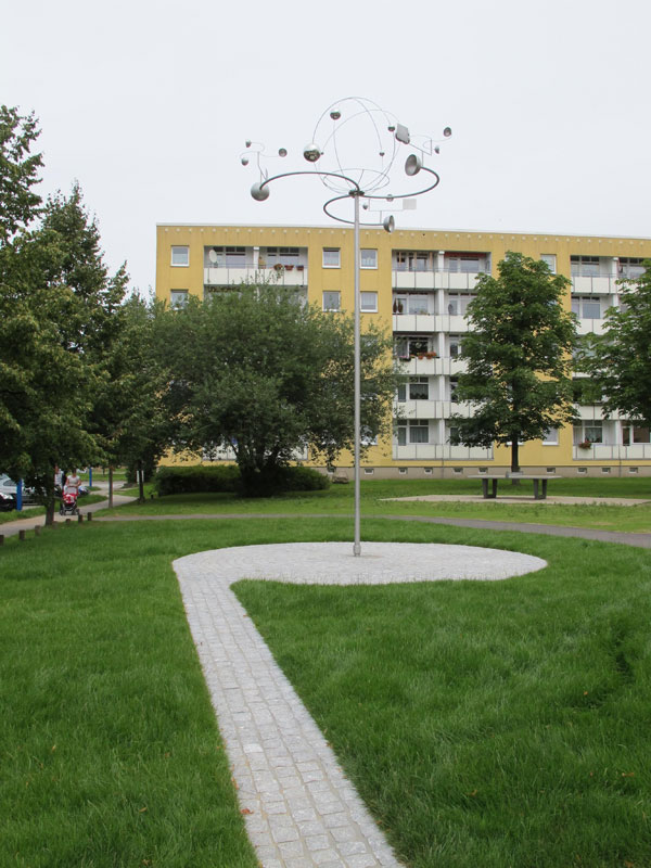 Wohnumfeldgestaltung der TAG im Physikerviertel