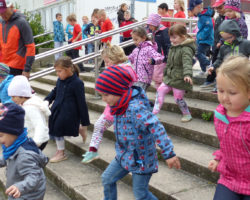 Teilnehmerrekord beim Jubiläums-Treppenlauf