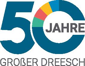 Signet 50 Jahre Großer Dreesch Schwerin